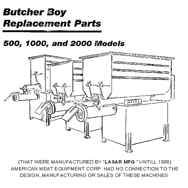 Mixer Grinder Manual Butcher Boy